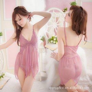 2 cores amido Lotus raiz cueca raiz de lótus amido preta nova sexy terno Kawai bonito lingerie sexy pijama de 1111