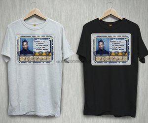 Ol Dirty Bastard ODB Rap Hip Hop Logotipo Negro camiseta blanca Tee Shirts S-2XL