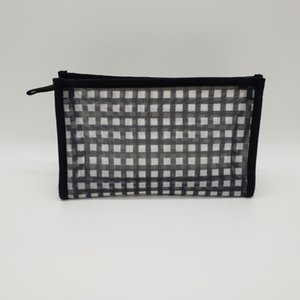 2020 mesh cosmetic bag pouch toiletry bag for women and men