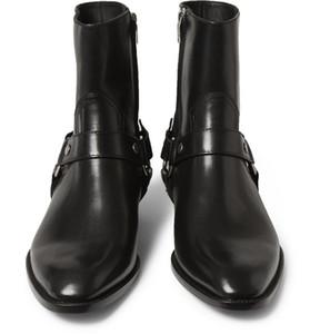 Man Mode Slp Klassische Wyatt 40 Harness Boots In Camel Suede Herrenschuhe Martin Stiefel Ankle Cowboy Motorradstiefel Outdoor-Herren Schuhe size45