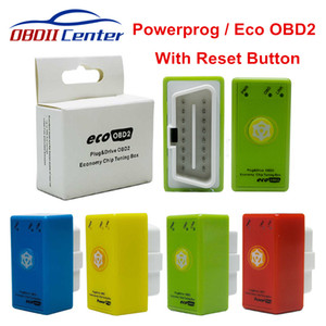 Full Chip Power Prog Nitroobd2 ECO OBD2 Diesel Benzine Chip Tuning Box Reset Button Powerprog Nitro OBD2 Save Fuel More Power
