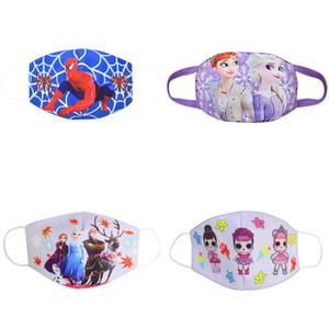 Respirar chico niños Para los niños del algodón Puuvill Máscaras máscara de la mascarilla Barbijos cubrebocas para la máscara de tela Boca Juvenil de dibujos animados fDybd Toys2008