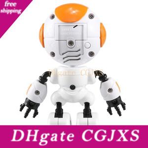 JJR / C R8 Rc Robot Luke Intelligent robô Touchable Controle Diy Gesto conversa inteligente Mini Rc Robots For Kids