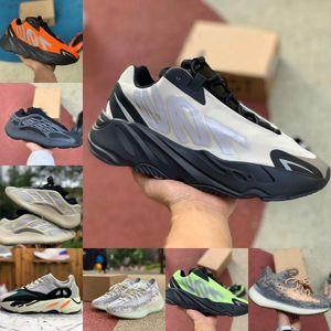 Alta qualità 700 MNVN esecuzione Mens Scarpe Cheap vanta 700 V3 Alvah Azael inerzia Kanye West Lattea Magnete V2 Mist Alien Runner Sneakers