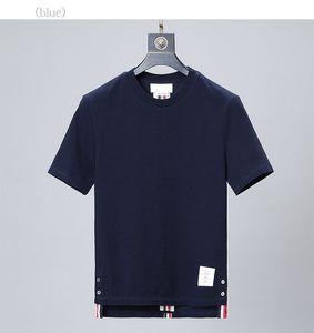 uomini e donne TB stesso a maniche corte a righe pullover girocollo a maniche corte T-shirt Giacca trasporto libero