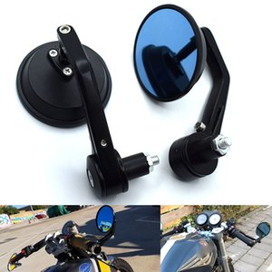 "Universal 7 8 22mm"" circular motorcycle handlebar end rear mirror For Honda CBR500R CB500F CB500X CB1000R CBR1000RR CBR954RR"