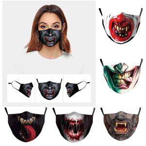 Máscaras Halloween Horror Zombie Zombie Vampiro Dress Up Festa Horror sangramento Máscara Decoração Máscaras Tricky adultos