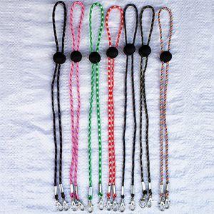 Chaînes de lunettes pour femmes hommes visage Bouclier Anti-perte Bracelet Holder Collier Lunettes Cordons de chaîne Masque Longe corde 7 Styles DHB1526