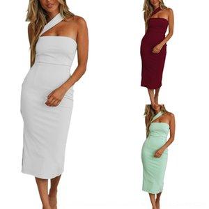 EYrId платья наклонных мешок платье мешок бедро Мода сексуальных спинки наклонной Hip-покрытие плеча плеча тазобедренного сустав Hip покрытие спинки сексуальных мод