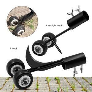 New crevice weeder free bending weeding artifact adjustable roller gardening weeder weeding hook