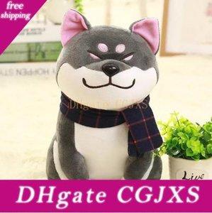 Wear presentes Scarf Shiba Inu Dog Plush Toy Soft Toy Dog Stuffed Bom Dia dos Namorados para namorada