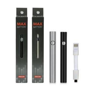 USB 510 ile Amigo 380mAh Max Onceden Akü Değişken Voltaj Alt Şarj Vape Kalem Pil Yağ Sepeti Amigo Liberty Vape Kartuşları Pen için