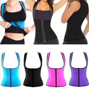 Kadınlar Artırıcı Bel Eğitim Korse Bel Eğitmen Sauna Suit Shaper Spor Yelek Neopren Vücut Şekillendirici Zayıflama Sweat