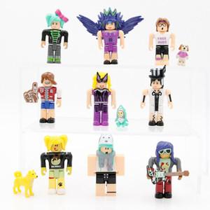 leyenda roblox modelo de personaje de dibujos animados juego virtual mundo muñeca muñeca pantalla caja de arena juego de caracteres decoración del regalo mi mundo infantil