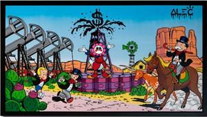 Alec Tekel Sanat Resim On Tuval Wall Art Canvas Resimler 200.922 Boyama Ev Dekorasyonu Handpainted HD Baskı Yağı