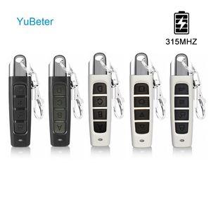 YuBeter 315MHZ Wireless Remote Control Cloning Duplicator ABCD 4 Taste Garage, Tor, Tür-Öffner E-Copy-Controller Auto-Schlüssel