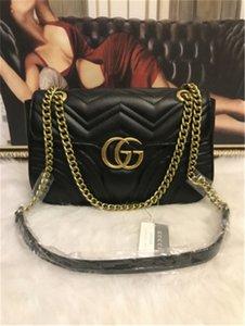 GUCCI sap Omuz Çantası Zinciri Crossbody Çanta Alışveriş Bez çanta ile Lüks Klasik tasarım çanta Aşk Kalp Desenli Satchel Çantalar