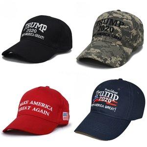 Señora Trump Trump202 sombrilla béisbol lavada de béisbol del sombrero de Sun de la sombrilla al aire libre de malla Cola de caballo sombrero # 992