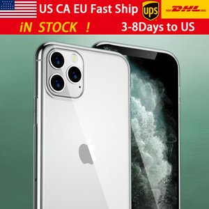 Gratuit HDL / UPS Iphone11 cas TPU transparent étui souple pomme 11Pro épreuve automne cas iphone7 7plus 8 8plus xr