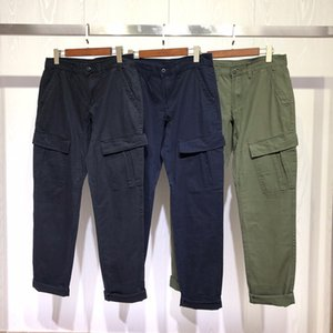 Moda Mens Pants Men mulheres à moda cor sólida Tamanho Pants Joggers Sweatpants Calças 3 cores 30-36
