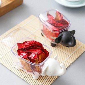 La joyería plástica transparente Caja de almacenamiento para pequeñas píldoras de componentes Caja de Herramientas del grano Organizador extremidad del arte del caso cosmético de almacenamiento 4bL9 #