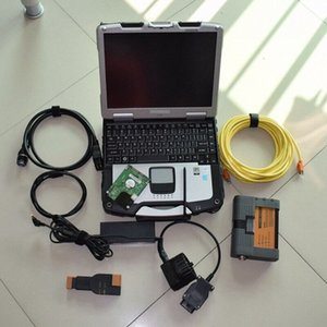 For bmw diagnostic tool icom a2 b c with computer cf30 laptop with expert mode hdd 500gb windows 7 WwBw#