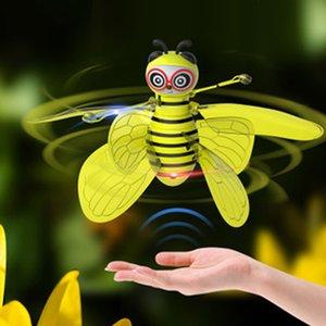 Children Mini remote control Bee Drone toys RC Animal Aircraft Toy Remote Control Bee Intelligent sensor aircraft