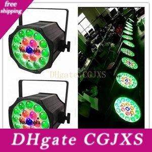 4 Pièces 19 X10 Watt 4in1 RGBW LED Par Par Led 4in1 RGBW Zoom scène Led Par lumière