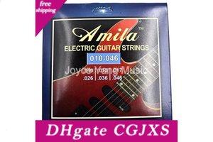 Первый Амила Æ100 электрогитары Струны -6th Nickel Round Wound Strings 010 -046 Бесплатная доставка оптовых продаж