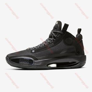 Jumpman XXXIV 34 Blue Void Men Basketball Shoes hococal 34s Zoom Amber Rise Eclipse Snow Leopard Black Cat Mens sports sneakers Sneakers