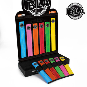 새로운 일회용 vape 펜 BLA 퍼프 10 색 바 (350) 퍼프 포드 카트리지 280mah vape 배터리 1.6ml 포드 vape 장치 VS 퍼프 흐름 EON 스틱