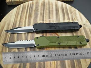 "AB1027 CNC mini VG10 blade 60-62HR Benchmade BM3300 UTX85 UT121 trumpt 3 ""T6 aluminum handle camping automatic knife EDC tool"