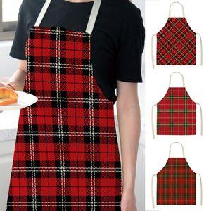 Mutfak Kadın Erkek Chef Garson Cafe Shop Garson Dekorasyon Barbekü Önlükleri Bibs Mutfak Araçları için Apron Print Pişirme Saingace Ev
