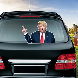 Оптовая Байден Trump Американский Президентские выборы Wiper стикер лобового стекла автомобиля стикер стикер на складе Бесплатная доставка DHL