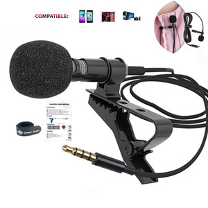 Outdoor Live Broadcast Lavalier Microphone, Mobile Phone Recording Microphone, Mini Portable Interview Microphone,Noise Reduction Microphone