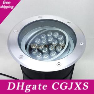2pc Fanlive regolabile dimmerabile 18w 24w 250 millimetri AC85 -265v IP68 Lampada a LED sotterraneo interrata Lampada Buried Illuminazione esterna