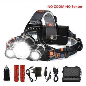 Super Power LED Фара T6 R5 LED Head свет Увеличить фары использовать батареи 2x18650 велосипедов света Водонепроницаемый