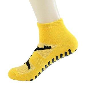 5PCS adultes enfants ANTIDÉRAPANTS trampoline sol Chaussettes Sweat Socks Yoga Absorbant Sport Fitness Coton