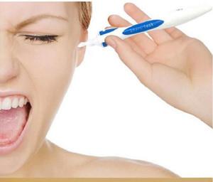 1 Set suave espiral descartável Fácil Earwax Cleaner Ear Earpick Ferramenta Wax Remover Seguro espiral Cleaner Prevent Earpick limpos 16 dicas DHL