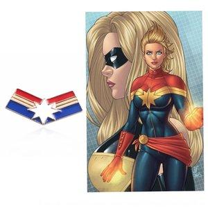 Yeni Marvel petrol alaşım pimi HEPlT damlayan aynı şaşırttı Badge Pim süper kahraman ve stil kaptan televizyon broş filmi rozeti Cosplay