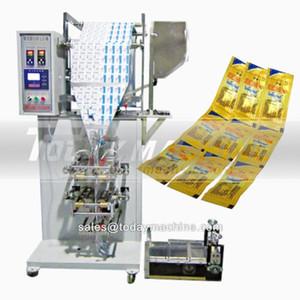 otomatik dikey doldurma ve kapatma sıvı şampuan bal poşet paketleri paketleri sopa çok şeritli paketleme makinesi