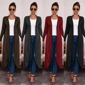 Women Clothing Fashion Lapel Neck Trench Coats Spring Solid Color Patchwork Long Sleeve Designer Coats Casual