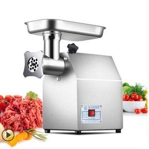 Wholesale Meat en acier inoxydable électrique Grinder Mincer Petite saucisse Stuffer Hachoir Maker machine outil de cuisine