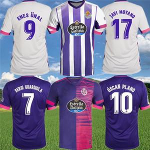 Real Valladolid Soccer Jersey 2020 21 Sergi Guardiola Enes Ünal óscar Plano R. alcaraz Fede S. Javi Moyano Sandro Michel футбольная футболка