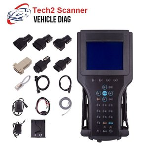 Tech2 Diagnostic Tool For GM Tech 2 Scanner with 32MB Software Card For SAAB OPEL SUZUKI Holden ISUZU 12V OBD2 Car Carton Box