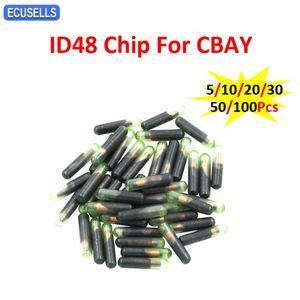 5 10 20 30 50 100Pcs ID48 Chip For CBAY Handy Baby Car Key Copy JMD Handy Baby Auto Key Programmer ID 48 Chip Car Chips