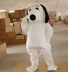 2019 Factory Outlets EPE Adult Size Snoopy Dog Mascot Costume Halloween Chirastmas Party Fancy Dress