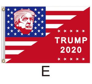 Bandera Trump 90 * 150cm Trump Keep America grandes banderas 3x5ft Digital Print Donald Trump Decoración Banner 2020 la elección del presidente de la bandera GGA3685
