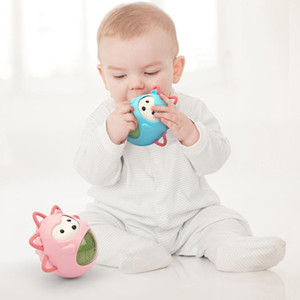 Brinquedos do bebê para Criança 0-12 meses Early Learning Crisp pintainho Tumbler brinquedos para as crianças Brinquedos do banho para Infant presente Educação Infantil