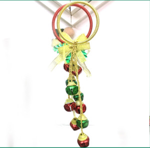 Christmas pendant door knocker with bell Christmas tree decorations accessories supplies bell with pendant d
